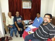 Meeting between VU2JAU, VU2SYD, VU2LNA and VU3ARF on arrival at Gwalior