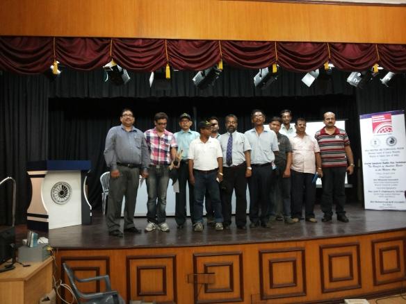 HAMs at World Amateur Radio Day Seminar